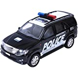 Centy Toys Police Interceptor Fortune Pull Back Toy, Black