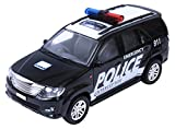 #7: Centy Toys Police Interceptor Fortune Pull Back Toy, Black