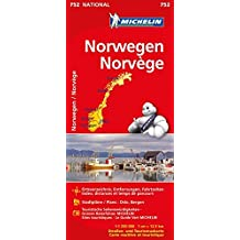 Norwegen (Michelin Nationalkarte)