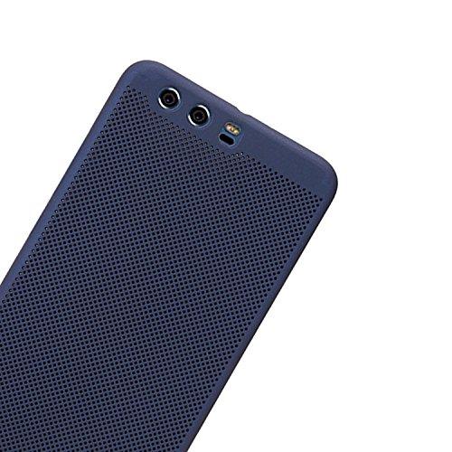 Huawei P10 Plus Coque Doux TPU Gel Silicone Etui Mignon Mode Bande Dessinée 3D Silicone Case Motif Cactus Case pour Huawei P10 Plus, Vandot [Exact Fit] Cactus Pattern Cover Coque pour Huawei P10 Plus  Heat dissipation-Bleu