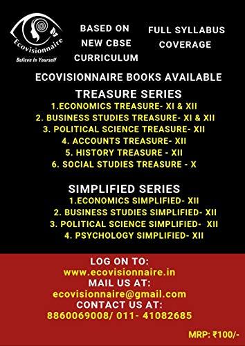 Eco Treasure Economics book for Class 12