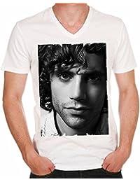 Mika H : T-shirt,cadeau,Homme, célébrité,Blanc,t shirt homme