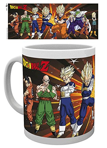 GB Eye Z Fighters Tasse Dragon Ball Z, Multicolore