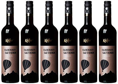 Feinkost Käfer Cabernet Sauvignon, 6er Pack (6 x 750 ml)