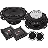 #9: 6. 5 Inches , Standard Packaging : Rockford Fosgate T165-S T1 Power 6. 5-Inch Component Speaker System
