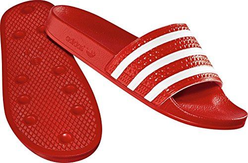 Adidas Badelatschen Adilette Unisex light scarlet-white-light scarlet, 39