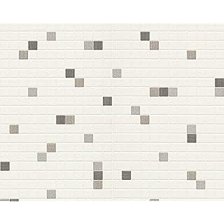 A.S. Creation 6077-44 Dekora Natur 6 Mini Mosaic Tiled Wallpaper, Multicoloured, Roll Size: 10.05m x 0.53m