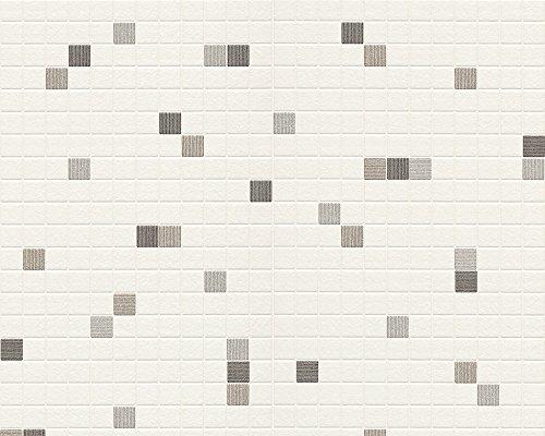 Livingwalls 607744 - Papel pintado para cocina o baño (imitación azu