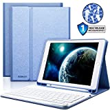 iPad Keyboard Case with Wireless Keyboard,BAIKEN Bluetooth Keyboard for iPad 2018 (6th Gen)/iPad