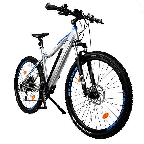 "NCM Moscow Plus E-Bike Mountainbike, 250W, 48V 16Ah • 768 Wh Akku, 27,5\""/29\"" Zoll (16Ah Silber Plus 29\"")"