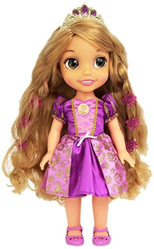 Disney Princess - Rapunzel Peinados mágicos, muñeca Que Habla en Tres Idiomas, inglés, francés y Castellano, Color Lila (Cefa Toys 88286)