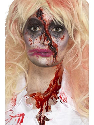 hör Zombie Krankenschwester Make Up Hut Blut Halloween ()