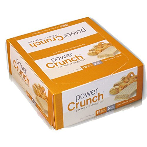 Bio-Nutritional Pwr Crnch Bar,Peanut Butter Creme 1.4 oz by Bio-Nutritional
