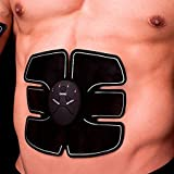 #4: GOPANI Beauty Body Mobile-Gym 6 Pack EMS Tummy Flatter, Weight loss Muscle Toning/ Fitness Technology Kit 6 Pack Abs, Wireless Electro Pad Portable Gym Trainer for Men/Women