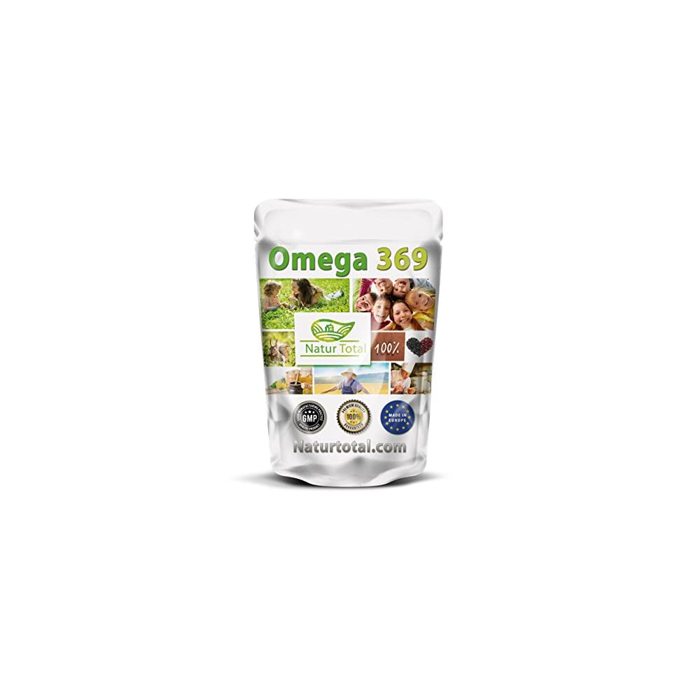 Naturtotal Omega 369 Kapseln 1000mg Hochdosiert 200 Stck