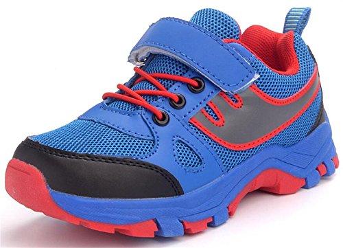 DADAWEN Mixte Adulte/Enfant Chaussures de Course Sports Lacets Mesh Respirante?Homme/Femme/Garçon/Fille