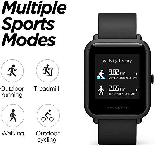 Smartwatch Amazfit bip Lite/A1915 Lite Black Xiaomi