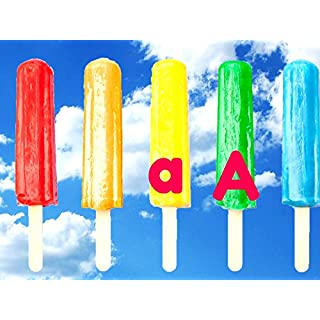 ABC- Learn The Alphabet With Popsicles