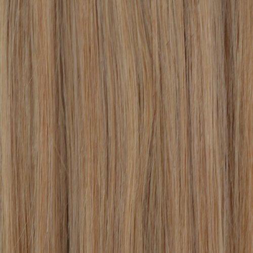 50 mèches de 50,8 cm Nano Pointe Extensions de cheveux Remy 100% humains Blond cendré naturel - # 24nab