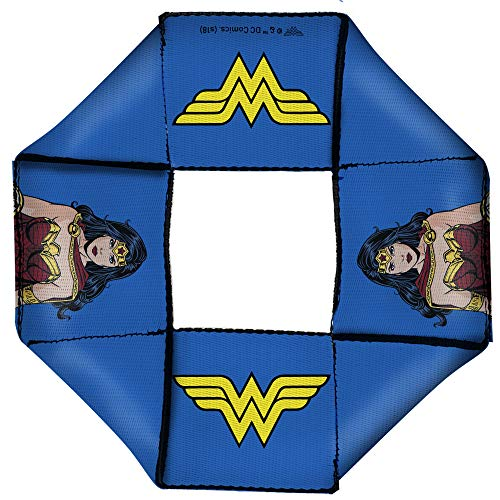 Buckle Down Hundespielzeug Flyer Wonder Woman JL Rebirth Pose WW Icon Blau (Woman Seil Wonder)