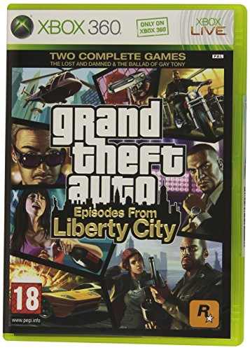 [UK-Import]Grand Theft Auto GTA Episodes From Liberty City Game XBOX 360