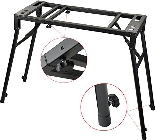 inbach E-Piano Stativ Mixer Turntable Klapp Tisch Laptop Halter verstellbar in Höhe und Breite ()