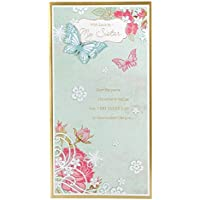 Hallmark Birthday Card For Sister 'Always Be There For Each Other' - Medium Slim
