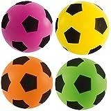 Sponge/Foam Football 17.5cm Assorted Colours