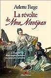 La Révolte de Mme Montjean: L'histoire d'un couple d'artisans au siècle des Lumières