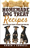 Homemade Dog Treat Recipes: Quick and Easy Treats to Make for Your Dog