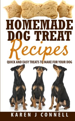 Homemade Dog Treat Recipes: Quick and Easy Treats to Make for Your Dog por Karen J Connell