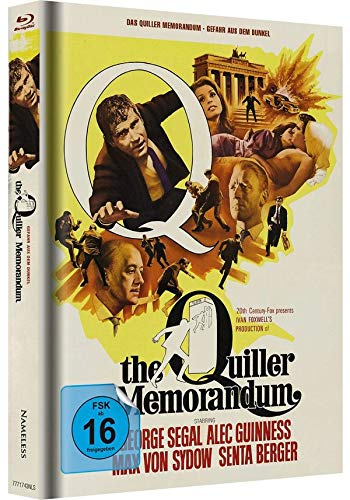 Das Quiller Memorandum - Mediabook (weiß/gelb) LTD [Blu-ray]