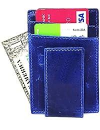 Wildmount Men Genuine Leather Card Holder (10 Card Slots)