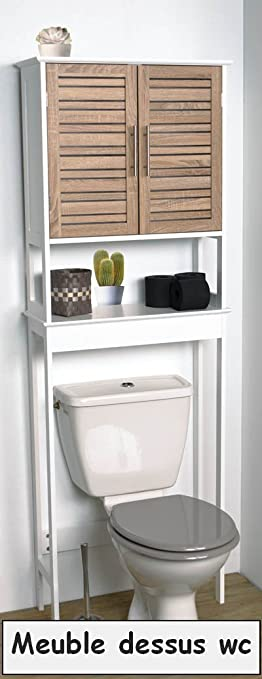 Meuble de salle de bain et WC gamme Scandinave Meuble dessus wc
