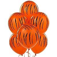 Mayflower Distributing - Jungle Tiger Stripes Latex Balloons by Mayflower Distributing