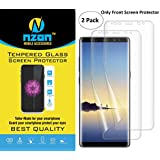 nzon Bubble-free Anti-Scratch Film Full Coverage, Case Friendly HD Clear TPU Screen Protector for Samsung Galaxy Note 8 (Not Glass)