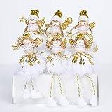 lailongp Weihnachtsengel Puppe, Kinder Weihnachtsspielzeug, Weihnachtsschmuck, Home Desktop Decoratio, Neujahrsgeschenk (Angel Decoration Station)