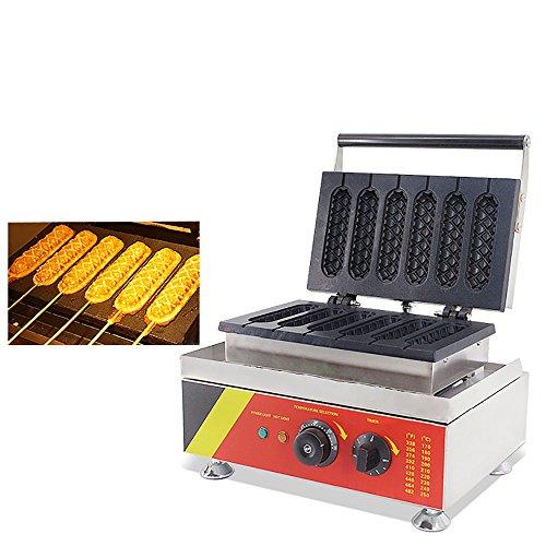 French Muffin Hot Dog Maschine Waffle Maker Maschine 220/240V (6PCS One Time)