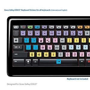 EDIUS portable clés Raccourcis clavier autocollants étiquettes - Pour tous les claviers
