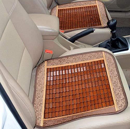 Vier Jahreszeiten Universal Auto Bambus Sitzkissen/Komfort Atmungsaktiv Auto Sitzbezug/Viereck Office Home Stuhl Mat