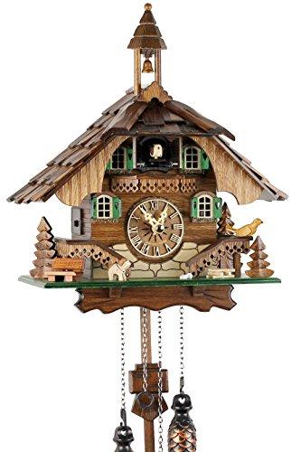 Reloj cuco Selva Negra madera auténtica mecanismo
