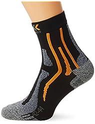 X-Socks Funktionssocken Sky Run Two - Calcetines, color negro, talla 42/44