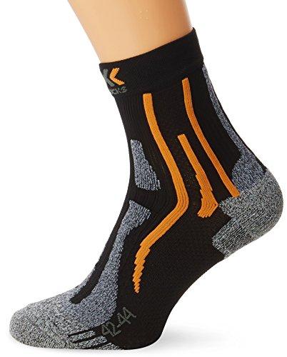 x-socks-run-two-sky-adultes-respirantes-42-44-multicolore-noir