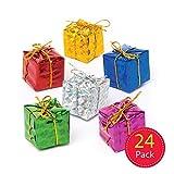 Baker Ross Lot de 24 Mini décorations de Noël pour Enfants, AR828, Coloris Assortis...