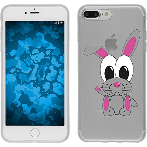 PhoneNatic Case für Apple iPhone 7 Plus Silikon-Hülle Cutiemals M5 Case iPhone 7 Plus Tasche + 2 Schutzfolien Motiv 4