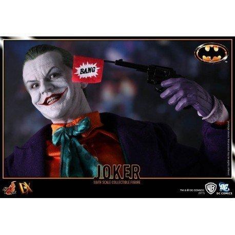 Joker Batman Action Figure Film 1989 Maßstab 1/6 Sammlerstück gemalt von Hand geschnitzt
