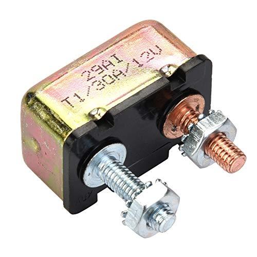 Leistungsschalter, Auto Marine 12 / 24V Universal-Sicherungsautomat mit Metallabdeckung(30A) - Installieren Circuit Breaker 30a