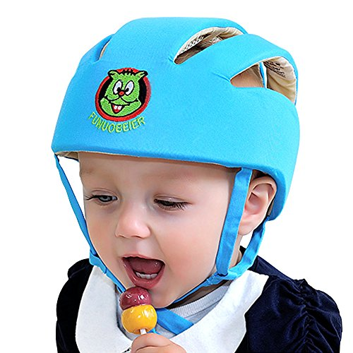 ABUSA Infant Baby Toddler Safety Helmet Kids Head Protection Hat for Biking Walking Crawling - Blue by ABUSA