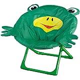 Nilkamal Frog kids Folding Relaxing Chair (Green)