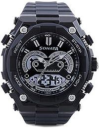 Sonata Ocean Series III Analog-Digital Multi-Color Dial Unisex Watch -NK77030PP03